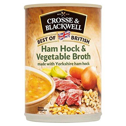 Crosse & Blackwell Eisbein & Gemüsesuppe 400G (Packung mit 6) (Crosse Und Blackwell)