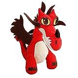 Dragons - Plüsch Figur Kuscheltier Drachen Hakenzahn Hookfang 25x13x28 cm