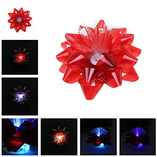 chten Spielzeug Ballaststoff Blume mit Bunt LED-Licht Festival Dekoration Kinder Party Spielzeug ()