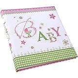 Goldbuch Babytagebuch Loevely rosa, 21x28cm, 44 illustrierte Seiten mit Pergamin, Leinen bedruckt, 11085