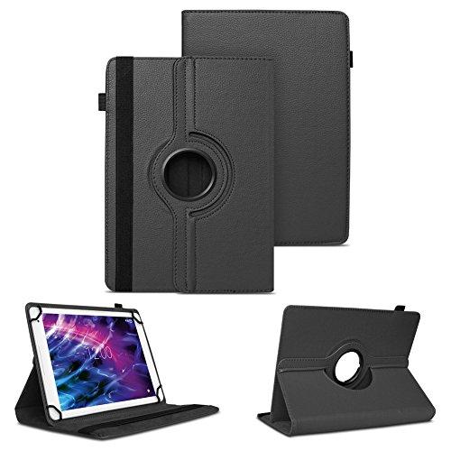 NAUC Hülle für Medion Lifetab S7852 Tasche Schutzhülle Case Tablet Cover Etui Schwarz