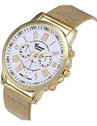 fb5de5b8b084 Amazon.es  Dorado - Relojes de pulsera   Mujer  Relojes