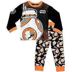 Star Wars - Pijama para Niños de BB8 4-5 Años