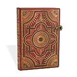 Ventaglio Barockfächer Rosso - Notizbuch Mini Flexi Liniert - Paperblanks