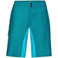 VAUDE Women 's Ligure Pantalones Cortos, Primavera/Verano, Mujer, Color Alpine Lake, tamaño Medium