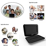 from Senders Portable DVD Player with Swivel Screen Built-in Rechargeable Battery 9.5 Digital Player for Car Supports SD Card and USB Model ED0001-1
