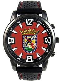 Alava España Reloj para hombre con correa de silicona