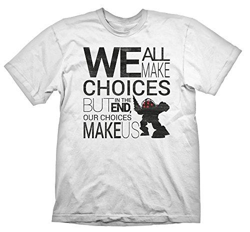 Bioshock-T-Shirt-Quote-Vintage-M