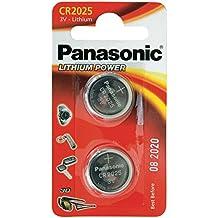 Panasonic CR2025 - Pilas (3 V, 165 mAh, 2 unidades)