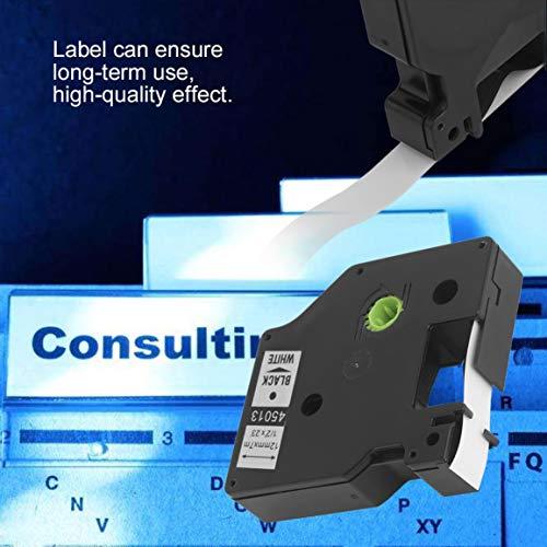 12 * 7MM 1pcs etichetta del nastro grande stabilità comoda etichetta modifica nastro etichetta di carta adatto per DYMO Stampanti macchina