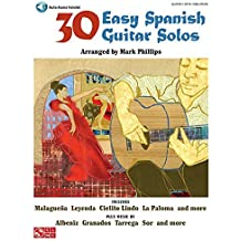 30 Easy Spanish Guitar Solos Gtr Book/Cd