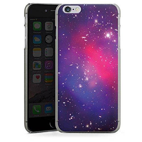 Apple iPhone X Silikon Hülle Case Schutzhülle Universum Galaxy Space Hard Case anthrazit-klar
