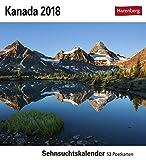 Kanada - Kalender 2018: Sehnsuchtskalender, 53 Postkarten