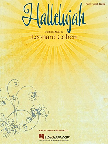 Leonard Cohen: Hallelujah (Noten - Einzelausgabe) (Halleluja Noten)