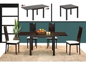 Table extensible GALION - 6 couverts - Hêtre massif