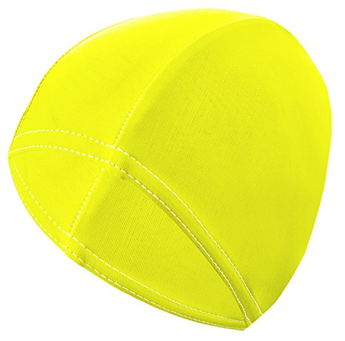 Gwinner Badekappe Schwimmkappe Damen - für lange Haare - elastisches Stretch-Material - Bathing Cap