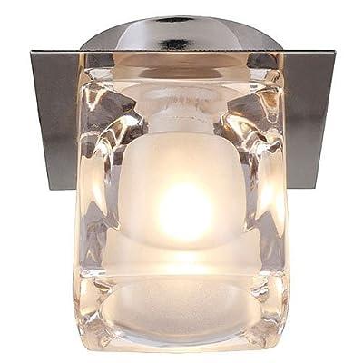 Deckenleuchte Blox chrom Glas klar von SLV bei Lampenhans.de