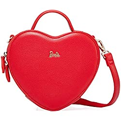 Barbie BBFB425 Bolso en Forma de Corazón de Estilo de Princesa Bolso de Multiutilidad (rojo)