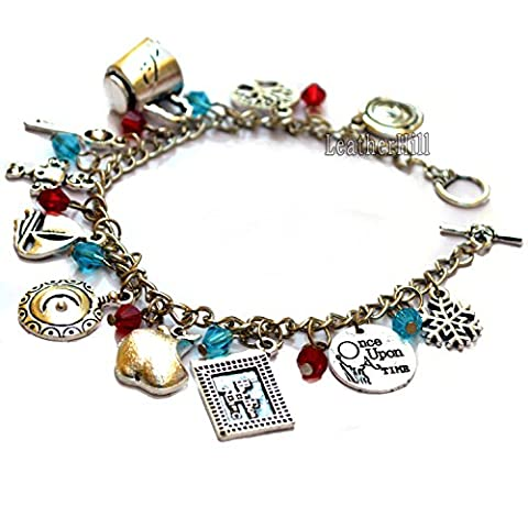 11 Once Upon a Time Peter Pan Bracelet Charms For Sale (Silver)