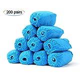 GEF 200 Paar Verdickung Überschuhe - Einweg-Hygieneschutzhülle für Medizin, BAU, Arbeitsplatz, Teppichbodenschutz für den Innenbereich