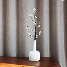 ZHUDJ Flor Artificial Solo Frutas A Granel Larga Pequeña Flor De Cuello Blanco Rojo Naranja Flores Artificiales Muebles Flor Roja No Incluido