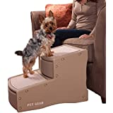 Pet Gear 2 Step Stairs- Tan - Compareprices24.co.uk