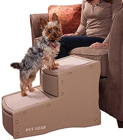 Pet Gear - Escalier pour chien - 2 marches - Camel
