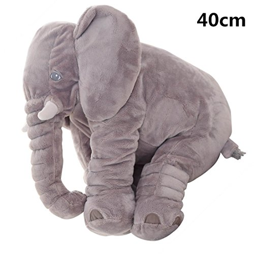 Bebé infantil elefante Dormir Stuffed suave cojín de peluche animales de peluche...