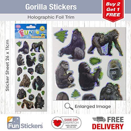 Gorilla Sticker Der Beste Preis Amazon In Savemoneyes