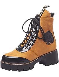 MissSaSa Mujer Sport Martin Boots  Zapatos de moda en línea Obtenga el mejor descuento de venta caliente-Descuento más grande