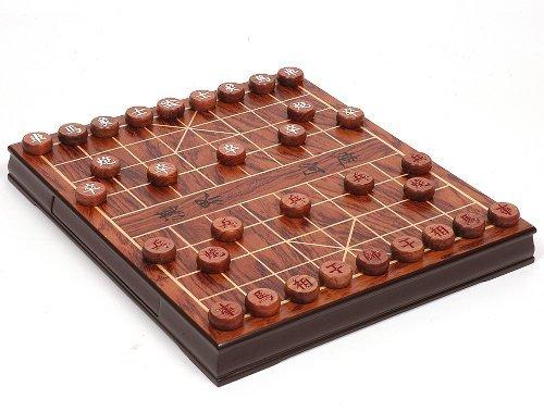 Edles Xiangqi mit Rosenholzspielsteinen - die Urform des Schach - chinesisches Schachspiel - Elefantenschach - Chinese Chess