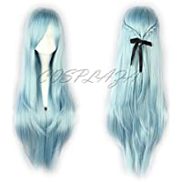 COSPLAZA Anime Cosplay Wigs capelli lunghi, tema Asuna Arte della Spada