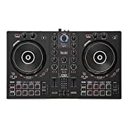 Learn DJing with the controller's exclusive functions: Tempo and Beat Align light guides, the Assistant and Energy functions. Comprehensive DJUCED software provided: master the basics of DJing with interactive help and integrated tutorial vid...