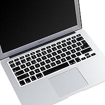 """masino® Funda de silicona para teclado ultra thin Keyboard Skin para Europea US versión en chino MacBook Air 13""""MacBook Pro con pantalla retina 13"""", 15""""y 17"""" Apple Teclado Bluetooth inalámbrico"""