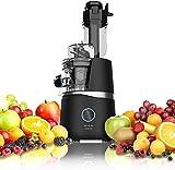 Cecotec Licuadora Juice&Live 3000 EasyClean. con Motor de 150 W,Sistema de prensado frío, Filtro de fácil Limpieza, Velocidad Lenta de 50 RPM, Canal XL para Frutas y Verduras Enteras, Libre de BPA