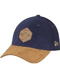 New Era 39Thirty Stretch Cap - CORD Buffalo Patch noir