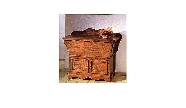 Credenza In Legno Arte Povera : Credenza legno fariniera cassapanca madia arte povera l 115 p 49 h 97