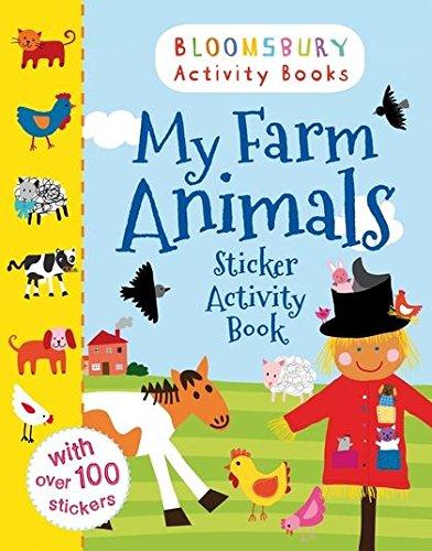 My Farm Animals Sticker Activity Book (Animals Sticker Activity Books)
