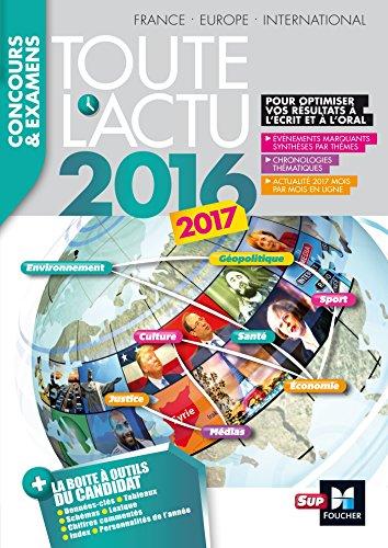 Toute l'actu 2016 Sujets et chiffres de l'actualité 2016 - Concours & examens