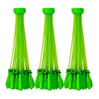 Bunch O Balloons - Instant Water Balloons - Green (3 bunches - 100 Total Water Balloons)