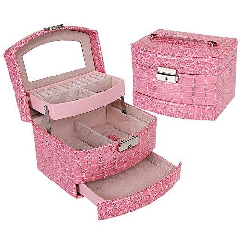 Joyero-3-pisos-y-espejo-diseo-piel-leopardo-rosa-y-terciopelo