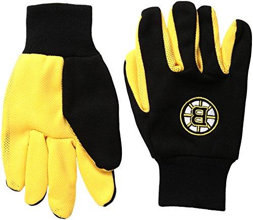 Forever Collectibles NHL Boston Bruins zweifarbig Utility Handschuhe, Unisex, schwarz