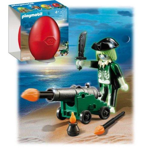 Playmobil 626077 - Huevo Fantasma Pirata Cañón