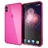 NALIA Coque Silicone Compatible avec iPhone XS Max, Ultra-Fine Housse Protection...