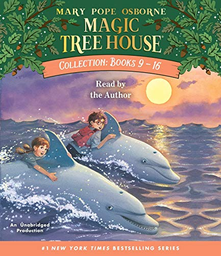 Magic Tree House Collection: Books 9-16: #9: Dolphins at Daybreak; #10: Ghost Town; #11: Lions; #12: Polar Bears Past Bedtime; #13: Volcano; #14: ... Ships; #16: Olympics (Magic Tree House (R))