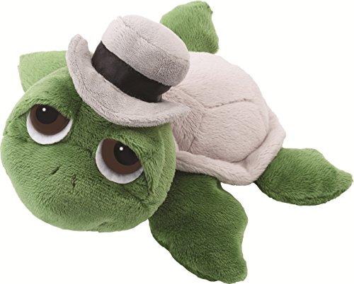 Li'l Peepers 14189 Rocky - Tortuga de peluche vestido como un novio (25,4 cm), color verde