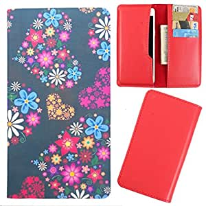 DooDa - For Spice X-Life 512 PU Leather Designer Fashionable Fancy Case Cover Pouch With Card & Cash Slots & Smooth Inner Velvet