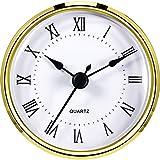 Hicarer Unisex Analog Quarz Taschenuhr Uhrwerk (Gold)