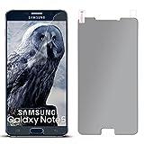 moex Samsung Galaxy Note 5 | Sichtschutzfolie Anti-Spy Displayschutz-Folie [Privacy] Screen Protector Dünn Blickschutz-Folie für Samsung Galaxy Note 5 Schutzfolie Matt Sicht-Schutz