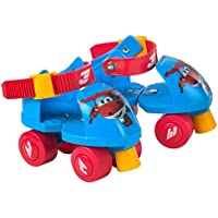 Super Wings Patines ajustables Jett 16-20 cm (ColorBaby 77011)